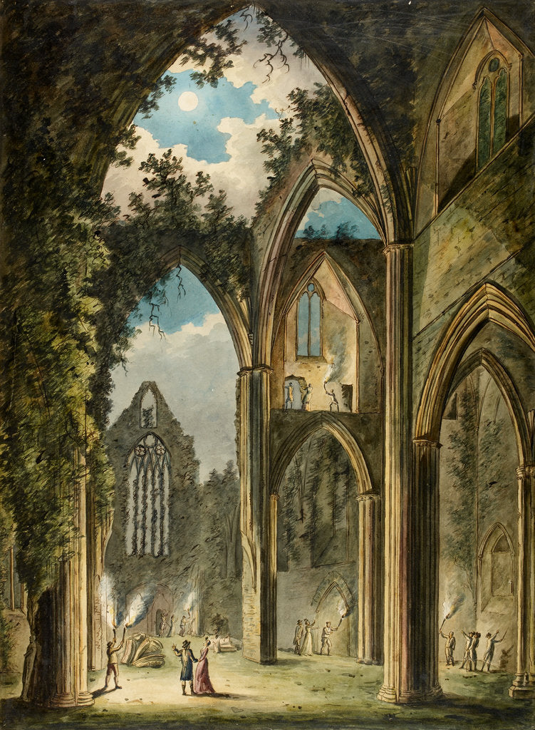 Detail of Tintern Abbey by Anonymous