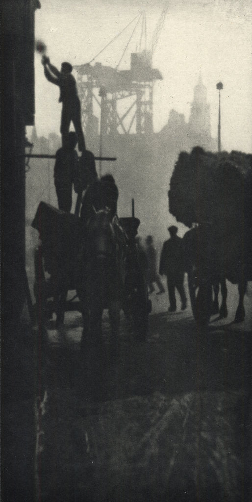 Detail of Kingsway, London, c.1909 by Alvin Langdon Coburn