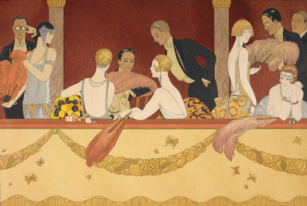 Detail of Eventails by George Barbier