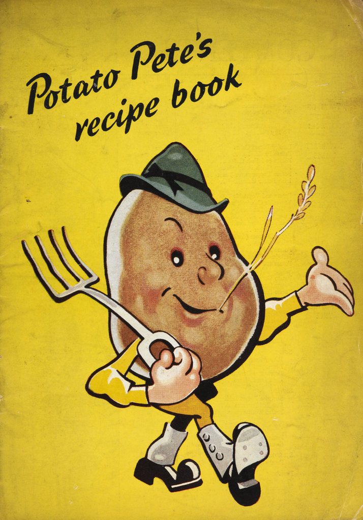 Detail of Potato Pete's recipe book by Anonymous