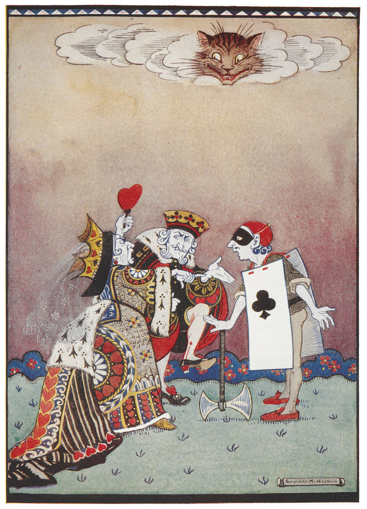 The Queen of Hearts by Gwynedd M Hudson