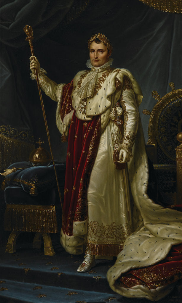 Detail of Napoleon Bonaparte by Jean-Baptiste Borely