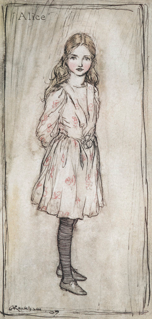 Detail of Alice by Arthur Rackham