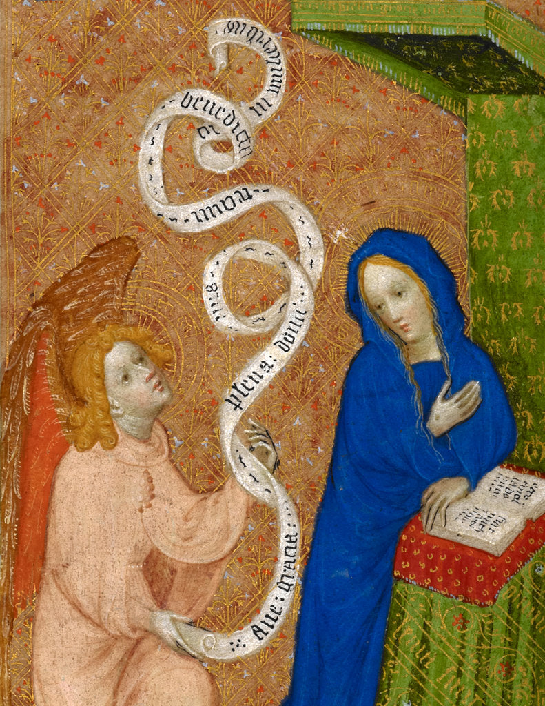 Detail of Beaufort / Beauchamp Hours by Anonymous