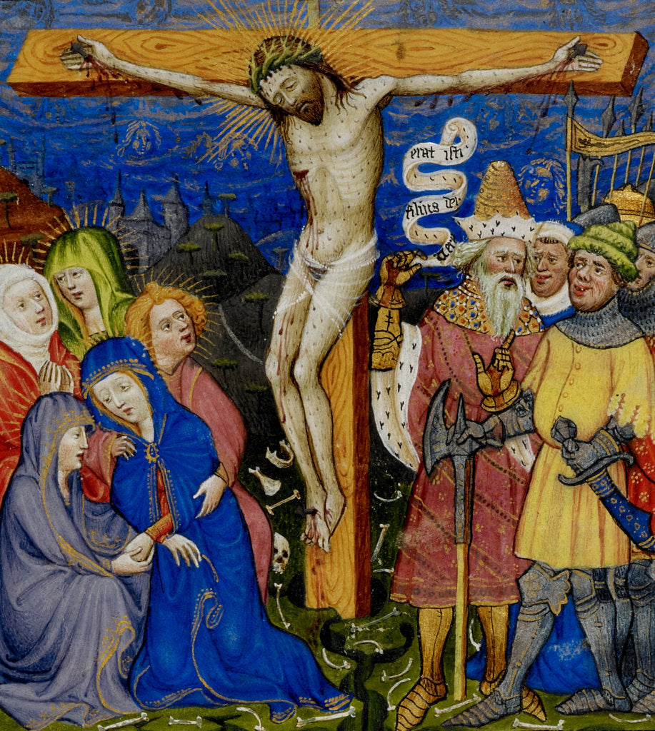 Detail of The Crucifixion by Anonymous
