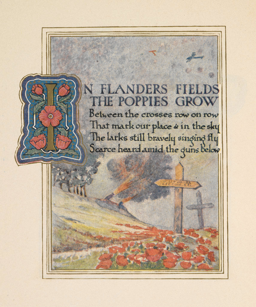 Detail of In Flanders fields by Ernest Clegg