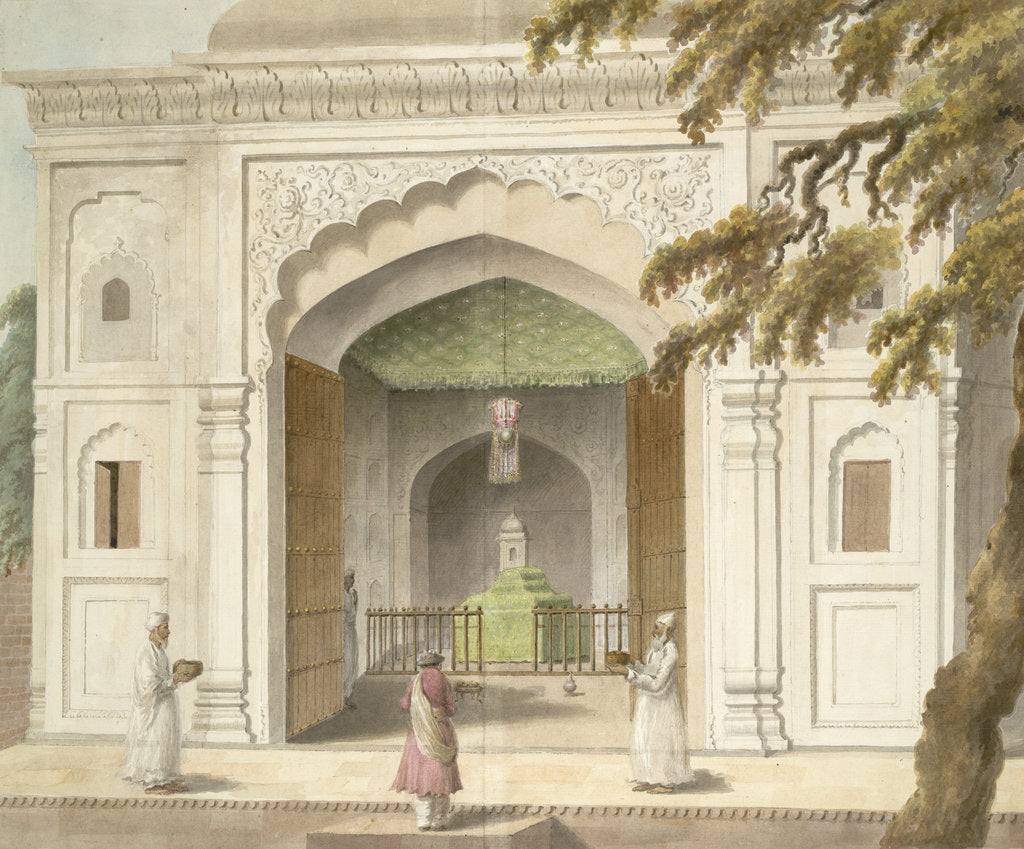 Detail of Mausoleum of Hafiz Rahmat Khan by Sita Ram