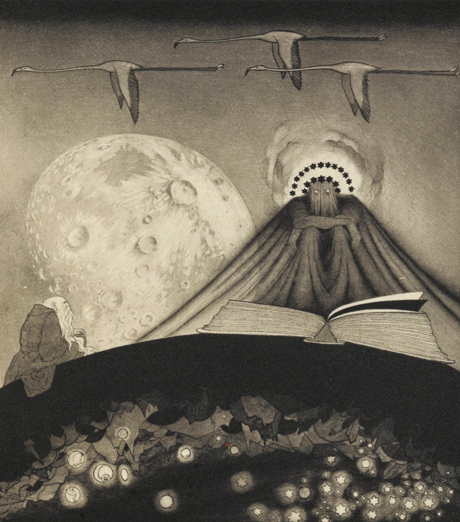 Detail of 'It' from The Gods of Pegana by Sidney Sime