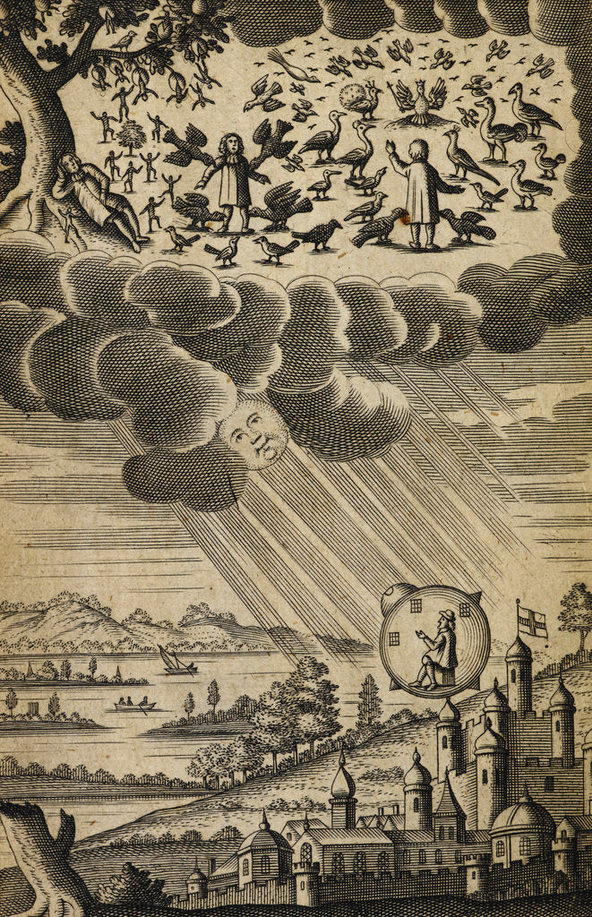 Detail of The Comical History of the States and Empires of the Worlds of the Moon and Sun by Anonymous