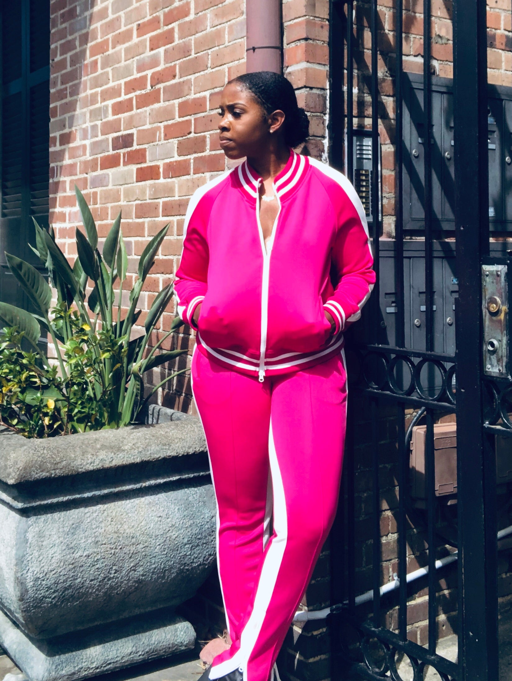 Pink-A-Boo Tracksuit