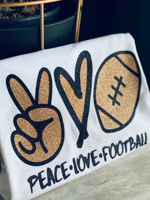 Peace • Love • Football