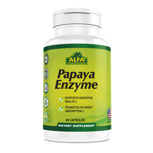 Papaya Enzyme 60 mg - 60 capsules