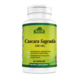 Cascara Sagrada 500 mg - 60 capsules
