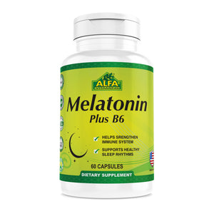 Melatonin Plus B-6 - 60 capsules