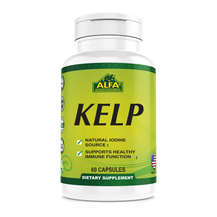 Kelp Natural Iodine Source 300 mg - 60 capsules