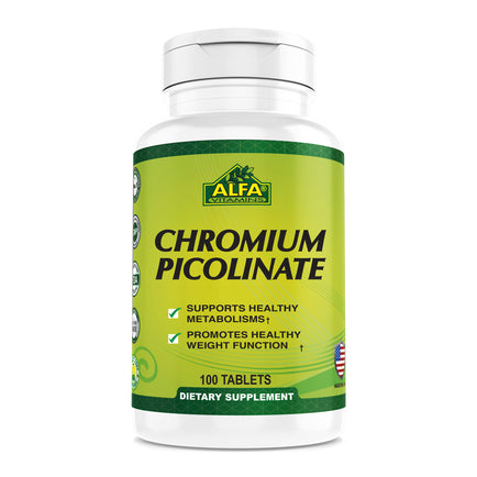 Chromium Picolinate 400 mcg - 100 tablets