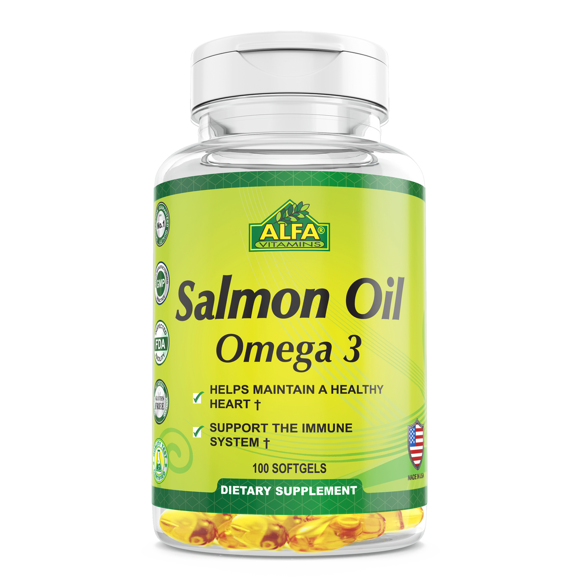 Salmon Oil - 100 softgels