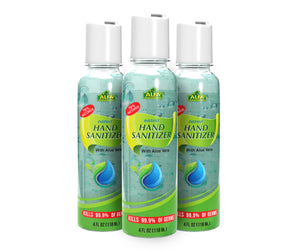 Advanced hand sanitizer gel with Aloe Vera - 3 Pack