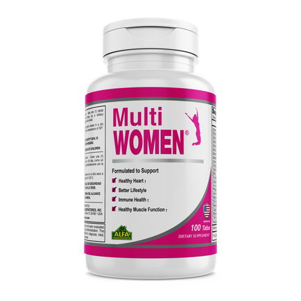 Multi Women - Daily Multivitamins for Women - 100 tablets