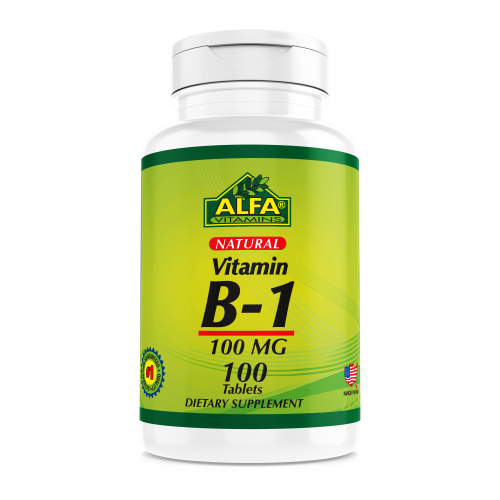 Vitamin B1 100 mg - 100 tablets