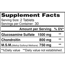 Triple Alflexil - Glucosamine Chondroitin MSM - 60 tablets