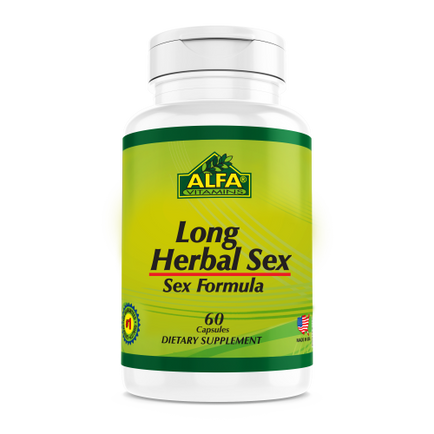 Long Herbal Sex - 60 capsules