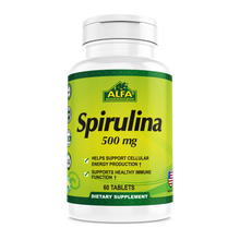 Spirulina 500 mg - 60 tablets