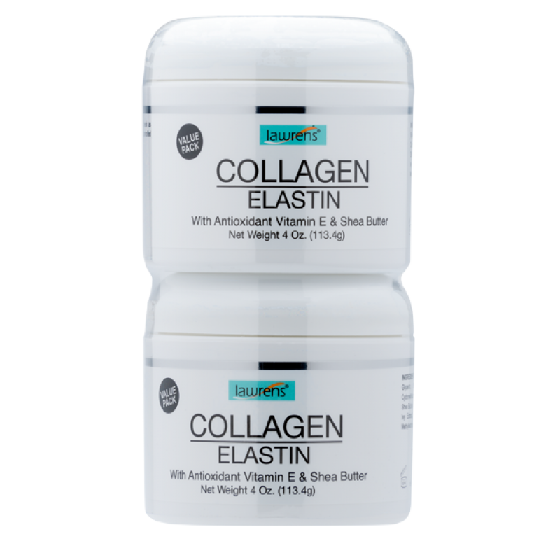 Collagen Elastin Cream - 4 oz Twin Pack