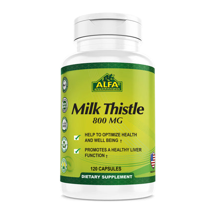 Milk Thistle 800 mg - 120 capsules