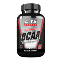 Maximum BCAA - Muscle Mass Builder - 100 capsules
