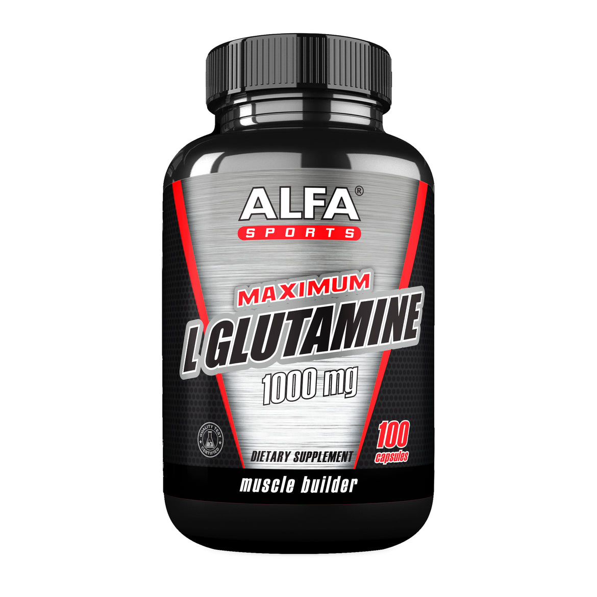 Maximum L-Glutamine 1000 mg - 100 capsules