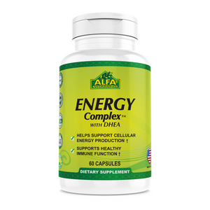 Energy Complex with DHEA - 60 capsules