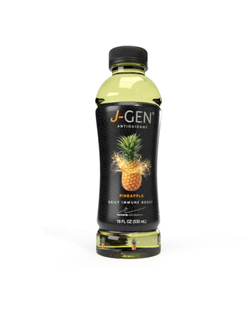 J-GEN Pineapple flavor - 12 Pack 18oz