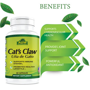 Cat's Claw 700 mg - 60 capsules