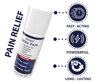 ALFLEXIL Pain Relief Roll-On - 3.18 oz.