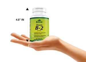 Vitamin B2 50 mg - 100 tablets