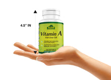 Vitamin A Fish Liver Oil - 100 softgels
