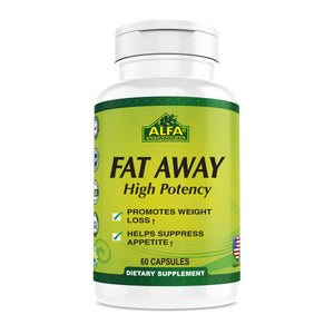 Fat Away- High Potency - 60 capsules