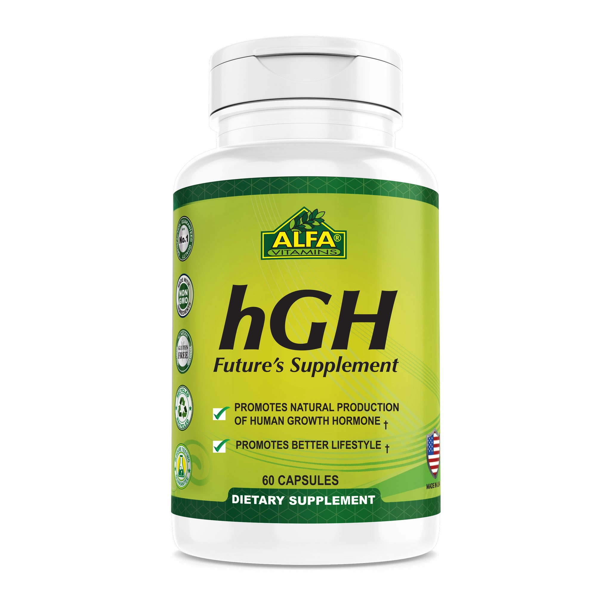 HGH Pills - Human Growth Hormone - Chewable Tablets