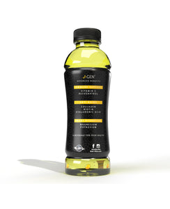 J-GEN Lemon flavor - 12 Pack 18oz