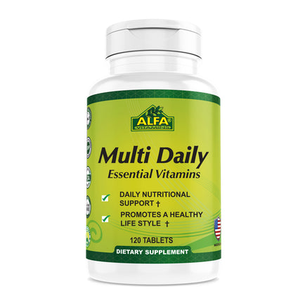 Multi Daily Essential Vitamins - 120 tabs