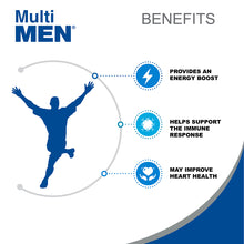 Multi Men - Daily Multivitamins for Men - 100 tablets