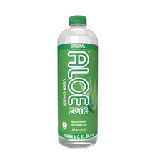 ALOE ZONE - Original Flavor - 34 oz bottle - 9 Pack