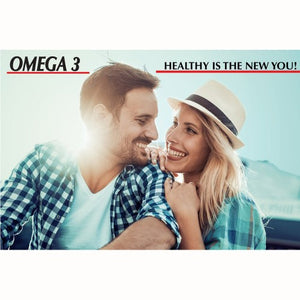 Omega 3 Fish Oil 1000 mg - 100 softgels