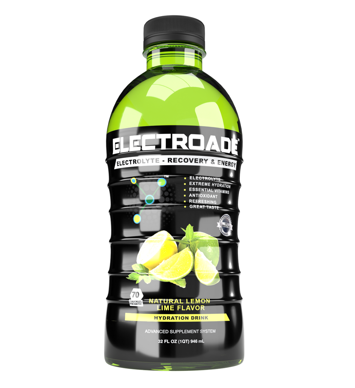 ELECTROADE Lemon Lime - 12 Pack 32oz