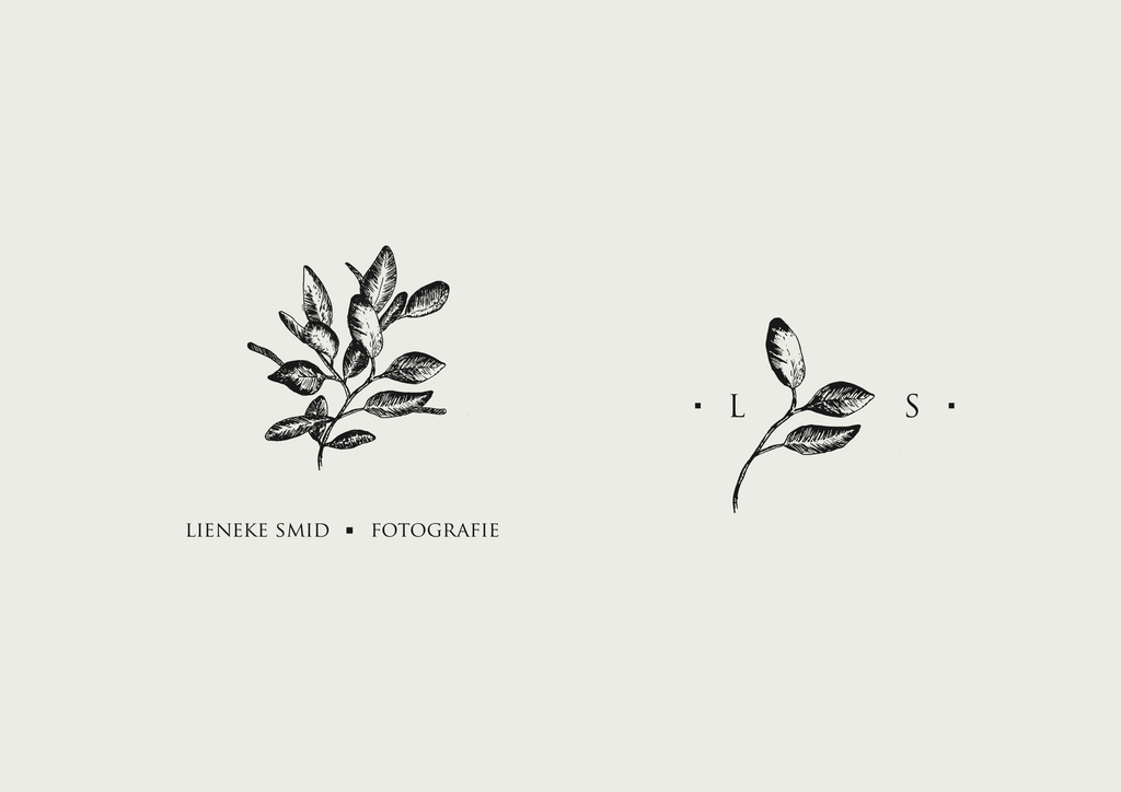 Logo ontwerp Lieneke smid fotografie door The Paper Press