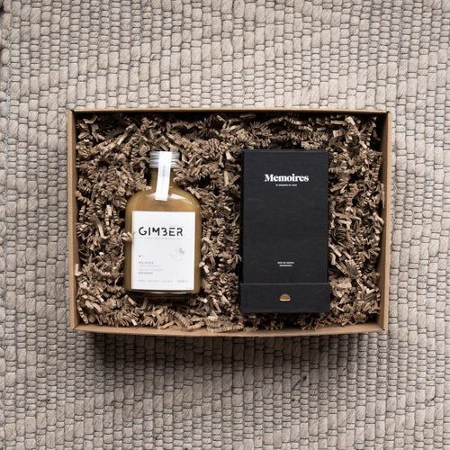 Cadeauset Gimber en luxe roomspray Memoires by moments