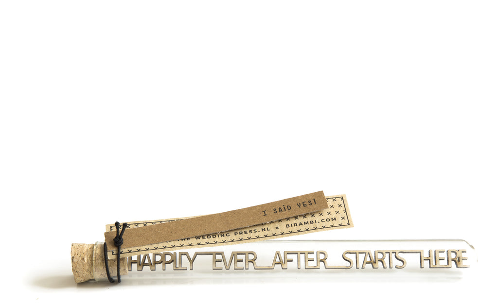 Happily ever after starts here. Wij gaan trouwen cadeau.
