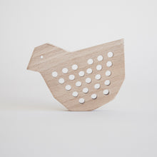 Afbeelding in Gallery-weergave laden, Wooden lacing duck