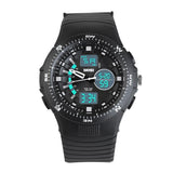 Multifunctional Dual Display Watches For Men Waterproof Sports Watch - Watchetto